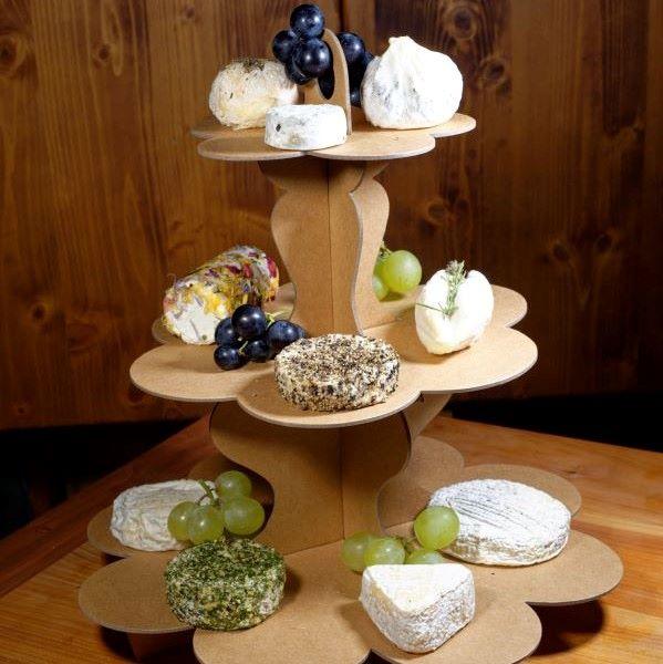 art de la table mariage fromages