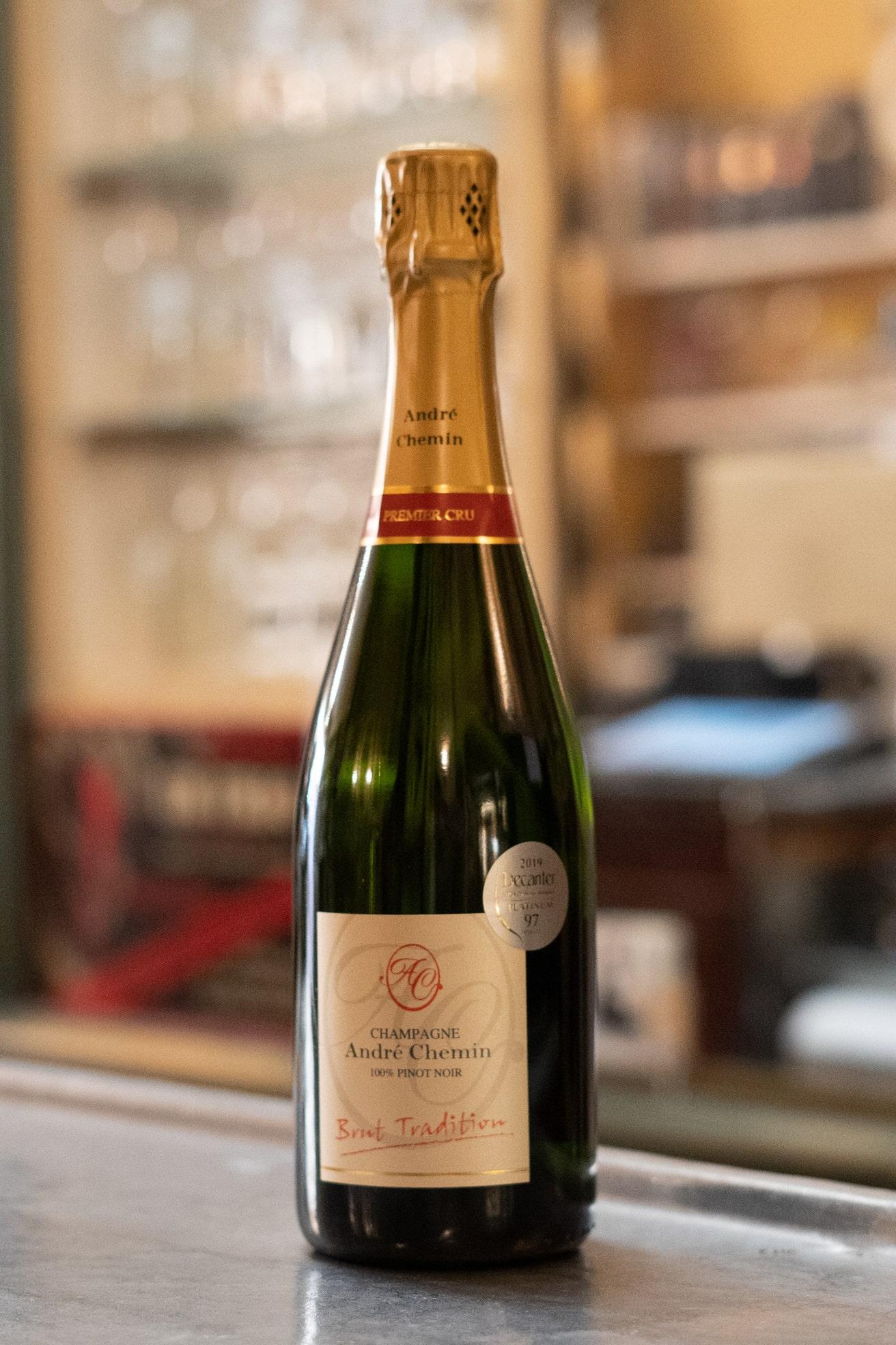 acheter champagne chez stephane
