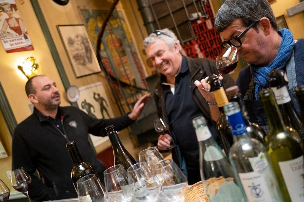 dégustation privée vin chez stephane