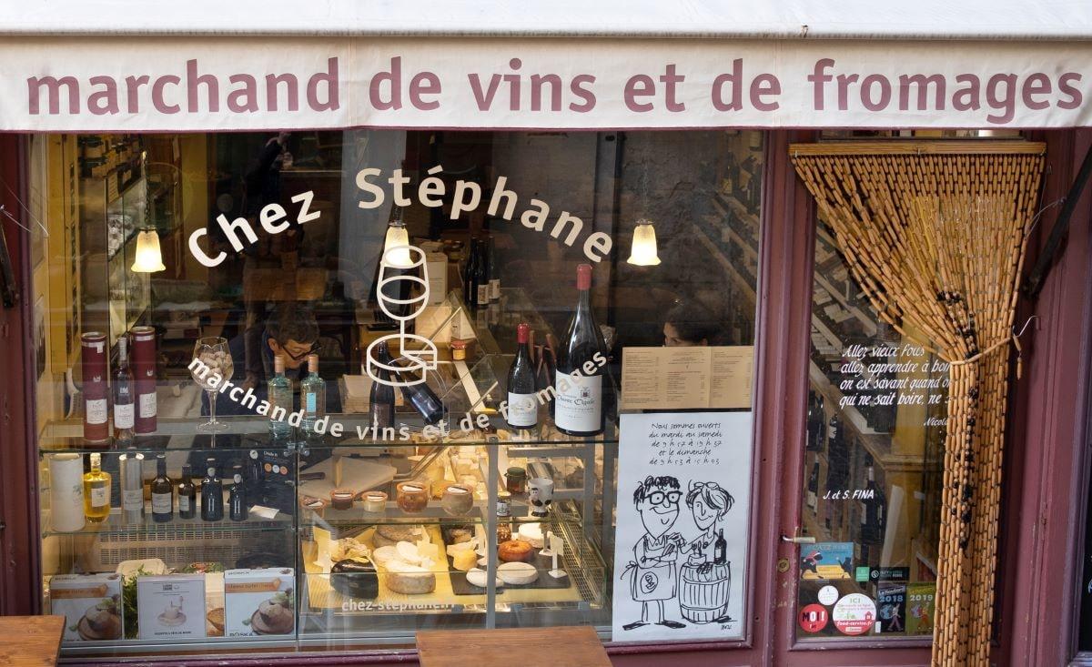 chez stephane boutique vin et fromage isle sur la sorgue